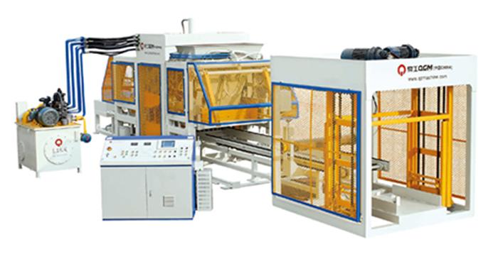 制砖机型号-大量供应QT10-15全自动砌块成型机