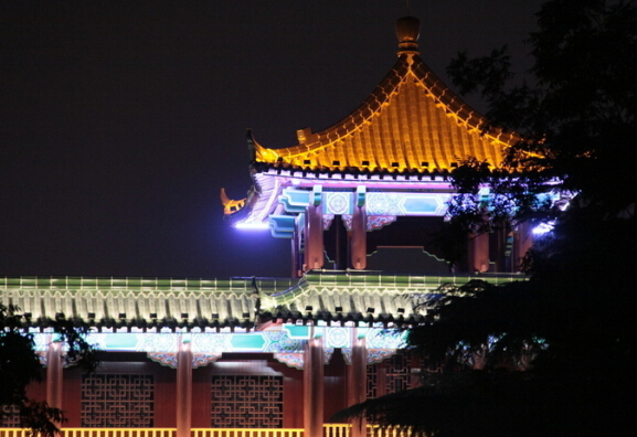 南宁景观亮化设计-承接公园景观照明亮化工程