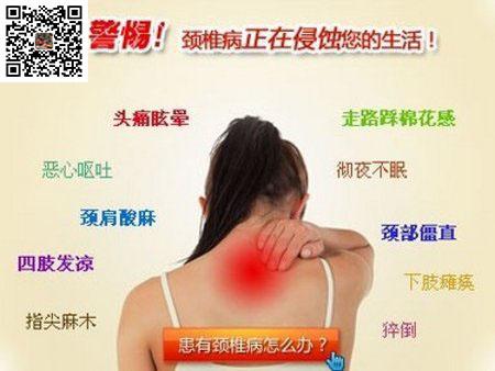 颈椎病调理