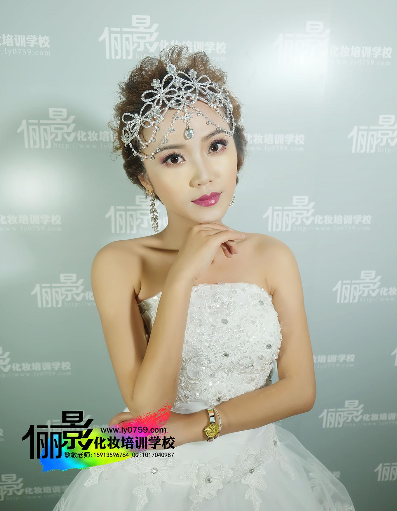 信譽良好的新娘化妝造型培訓就在湛江儷影化妝學校-服務好的湛江化妝造型學校