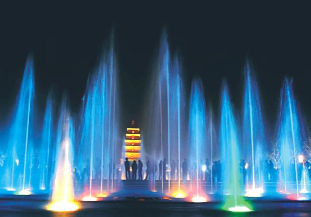 程控喷泉/编程喷泉设计施星游2注册